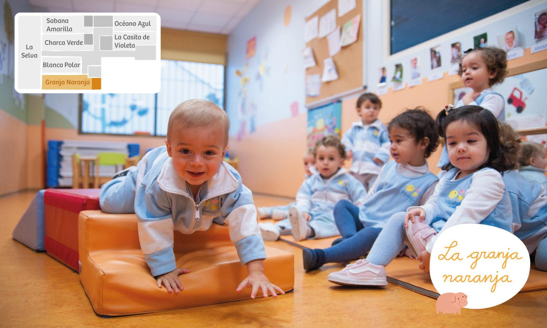 Granja naranja Xicotets escuela infantil