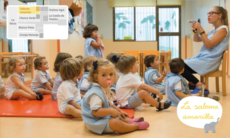 Sabana amarilla Xicotets escuela infantil