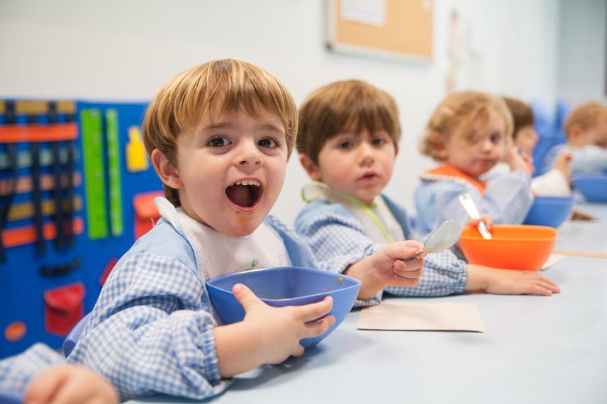 Comedor infantil xicotets